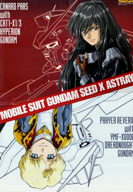 Sunrise (Studio), Mobile Suit Gundam SEED Astray, Prayer Reverie, Canard Pars, Newtype Magazine