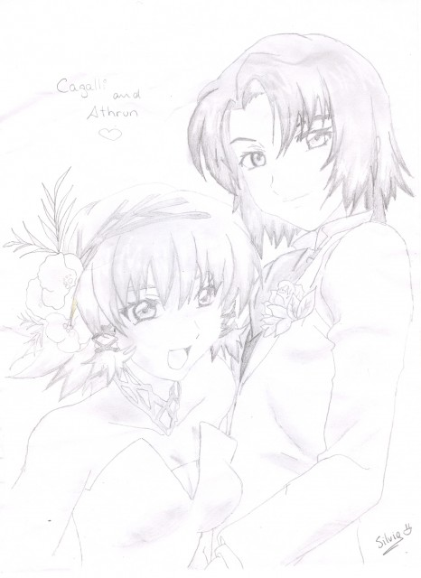 Sunrise (Studio), Mobile Suit Gundam SEED, Cagalli Yula Athha, Athrun Zala, Member Art