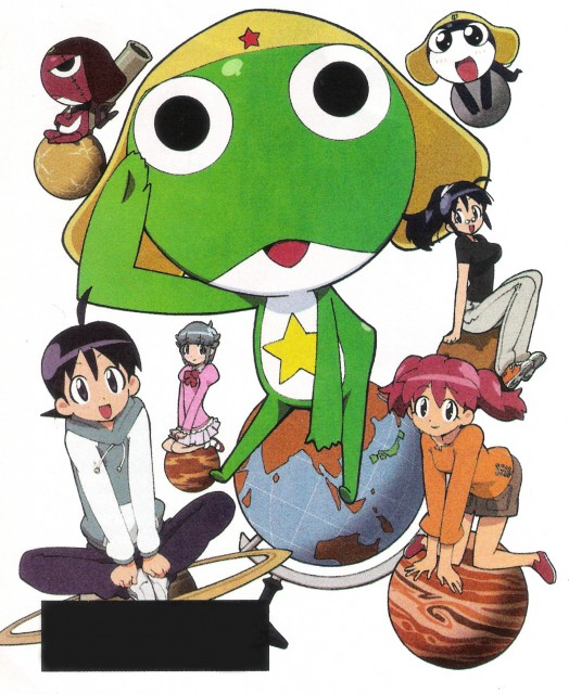 Mine Yoshizaki, Keroro Gunsou, Aki Hinata, Tamama, Fuyuki Hinata