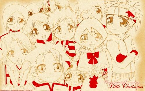 Kubo Tite, Studio Pierrot, Bleach, Yumichika Ayasegawa, Uryuu Ishida Wallpaper