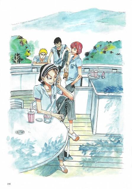 Wataru Watanabe, TMS Entertainment, Yowamushi Pedal, Yowamushi Pedal Colors, Hayato Shinkai