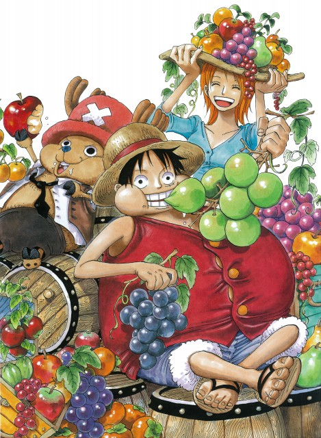 Eiichiro Oda, Toei Animation, One Piece, Color Walk 4 - Eagle, Monkey D. Luffy
