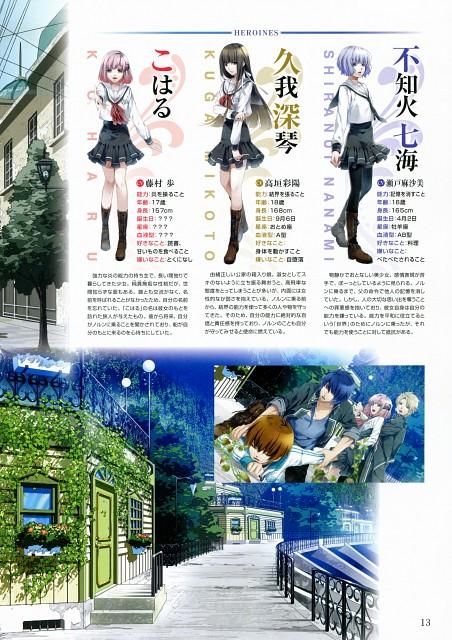 Teita, Idea Factory, NORN9 Premium Book, NORN9, Kakeru Yuiga