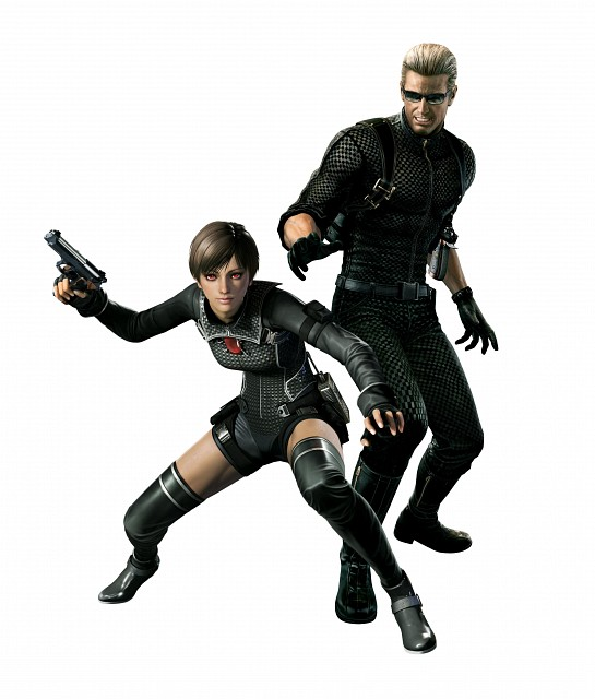 Capcom, Resident Evil Zero, Albert Wesker, Rebecca Chambers, Official Digital Art