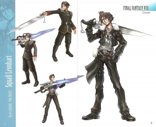 Square Enix, Final Fantasy Dissidia, Squall Leonhart