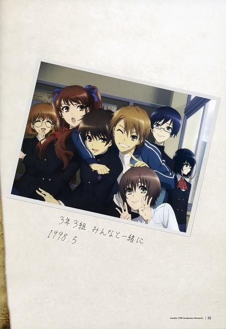 P.A. Works, Another, 1998 Graduation Memories, Kouichi Sakakibara, Naoya Teshigawara