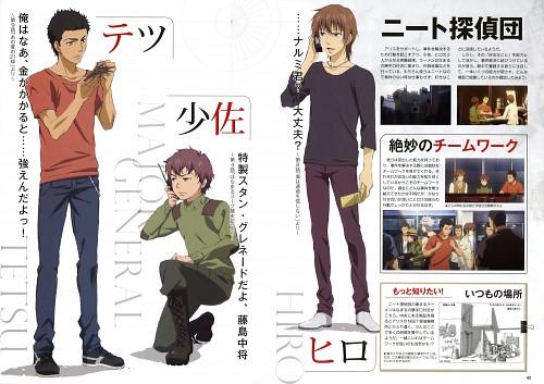 J.C. Staff, Kamisama no Memo-chou, Tetsuo Ichinomiya, Souichirou Hinamura, Hitoshi Mukai