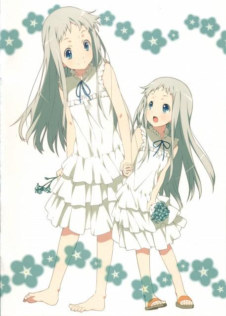 Makoto Mizuki, A-1 Pictures, AnoHana, AnoHana Unofficial Fan Book, Meiko Honma