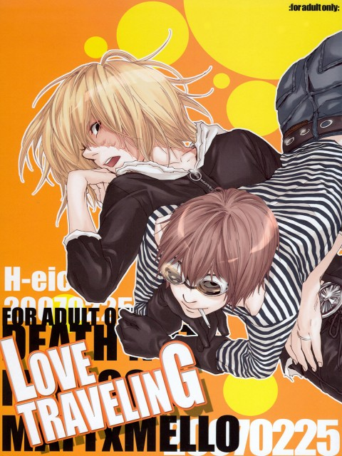 H-eichi, Death Note, Matt, Mello, Doujinshi Cover
