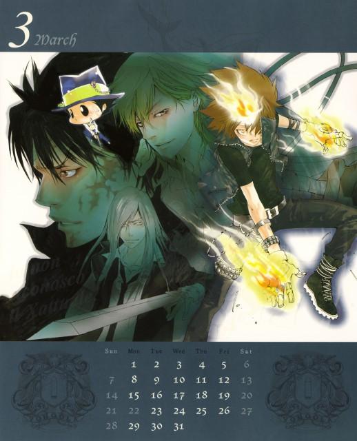 Akira Amano, Artland, Katekyo Hitman Reborn!, Levi A Than, Reborn (Character)