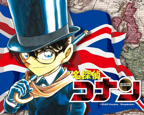 Gosho Aoyama, TMS Entertainment, Detective Conan, Conan Edogawa, Official Wallpaper