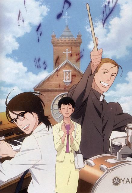 Sakamichi no Apollon, Ritsuko Mukae, Kaoru Nishimi, Sentarou Kawabuchi