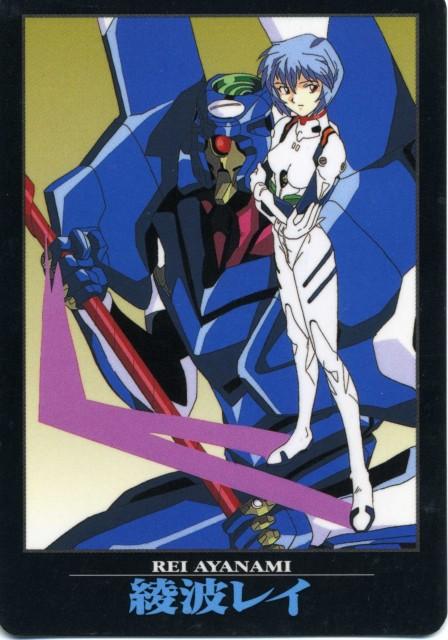 Yoshiyuki Sadamoto, Neon Genesis Evangelion, Unit-00, Rei Ayanami