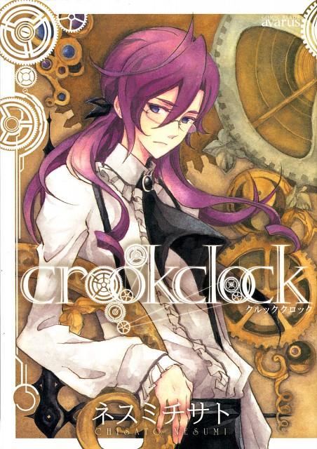 Nesumi Chisato, Crook Clock, Hewlett, Manga Cover