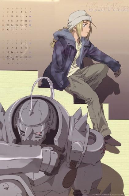BONES, Fullmetal Alchemist, Edward Elric, Alphonse Elric