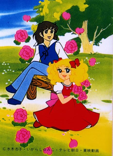 Yumiko Igarashi, Toei Animation, Candy Candy, Terrence G. Grandchester, Candice White Ardlay