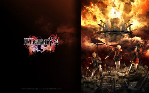 Square Enix, Final Fantasy Type-0, Ace (Final Fantasy Type-0), Jack (Final Fantasy Type-0), Queen (Final Fantasy Type-0)