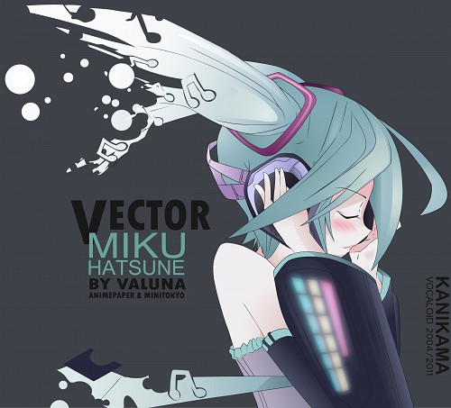 Vocaloid, Miku Hatsune, Vector Art