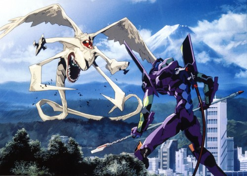 Yoshiyuki Sadamoto, Neon Genesis Evangelion, Die Sterne, Unit-01