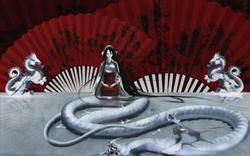 Tenjou Tenge, Aya Natsume Wallpaper