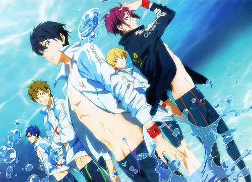 Futoshi Nishiya, Kyoto Animation, Free!, Free! Illustration WORKS, Makoto Tachibana
