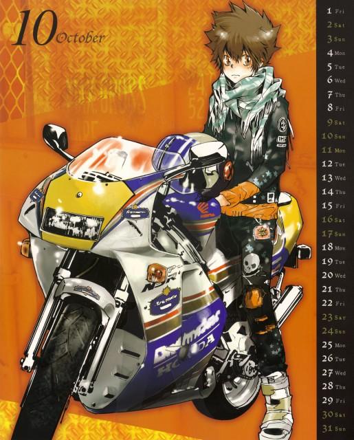 Akira Amano, Artland, Katekyo Hitman Reborn!, Tsunayoshi Sawada, Calendar