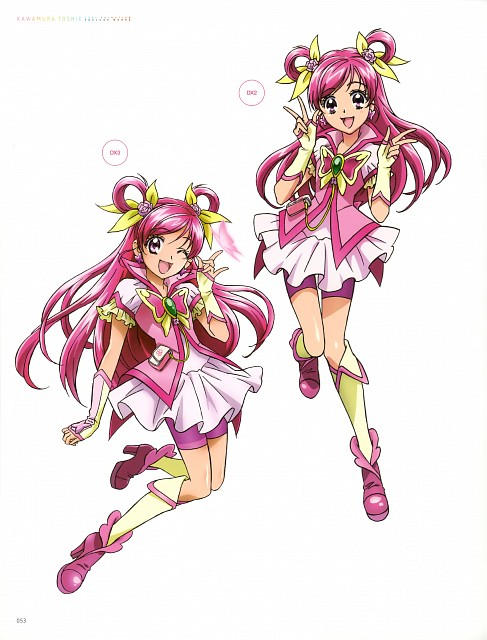Toei Animation, Yes! Precure 5, Kawamura Toshie Toei Precure Works, Cure Dream