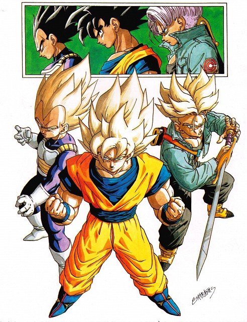 Akira Toriyama, Toei Animation, Dragon Ball, Trunks, Vegeta