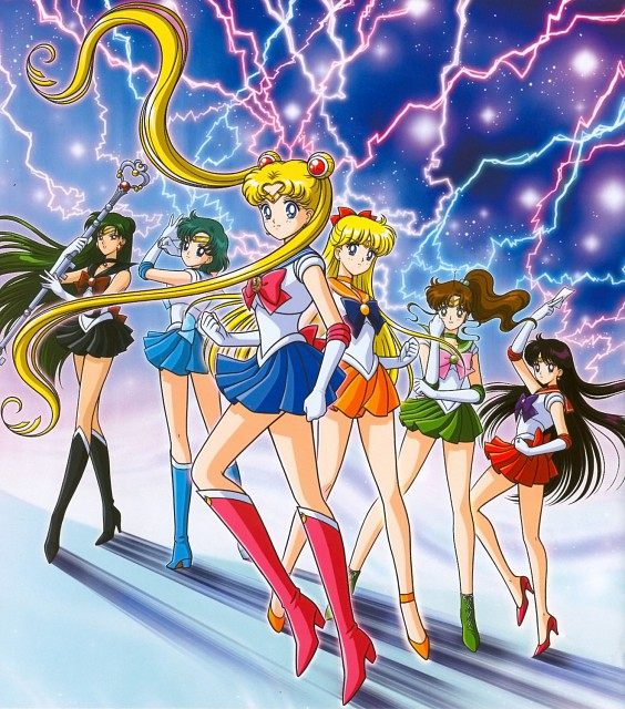 Marco Albiero, Bishoujo Senshi Sailor Moon, Sailor Mercury, Sailor Venus, Sailor Pluto