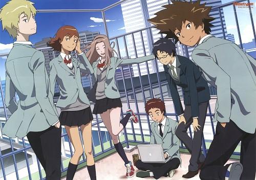 Toei Animation, Digimon Adventure, Jou Kido, Koushirou Izumi, Sora Takenouchi