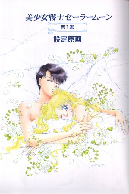 Naoko Takeuchi, Bishoujo Senshi Sailor Moon, BSSM Materials Collection, Usagi Tsukino, Mamoru Chiba