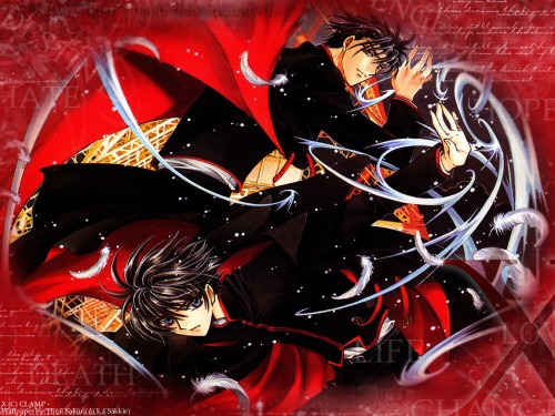 CLAMP, Madhouse, X, Fuuma Monou, Kamui Shirou Wallpaper