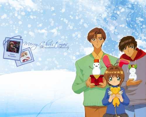 CLAMP, Madhouse, Cardcaptor Sakura, Keroberos, Fujitaka Kinomoto Wallpaper