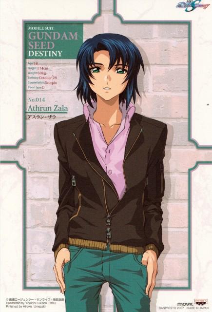 Youichi Fukano, Sunrise (Studio), Mobile Suit Gundam SEED Destiny, Athrun Zala