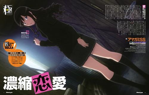 Kisai Takayama, Anime International Company, Amagami, Haruka Morishima, Newtype Magazine