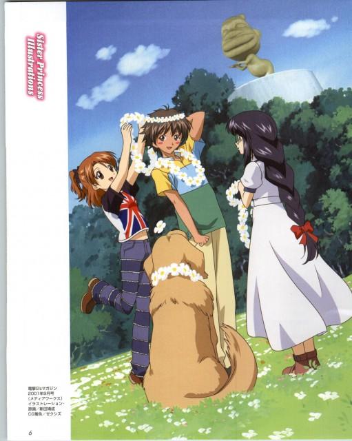 Naoto Tenhiro, Sister Princess, Yotsuba (Sister Princess), Marie (Sister Princess), Wataru Minakami