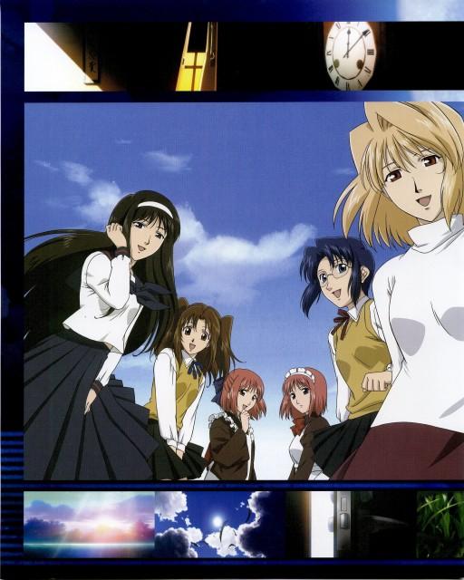 TYPE-MOON, Shingetsutan Tsukihime, Satsuki Yumizuka, Arcueid Brunestud, Kohaku (Shingetsutan Tsukihime)