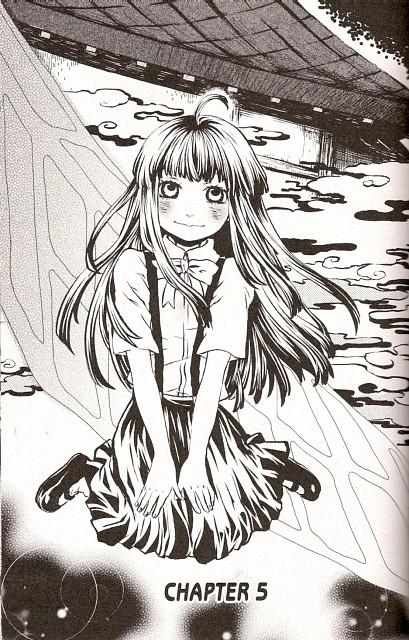 Mimori Mizusawa, Higurashi no Naku Koro ni, Rika Furude, Chapter Cover