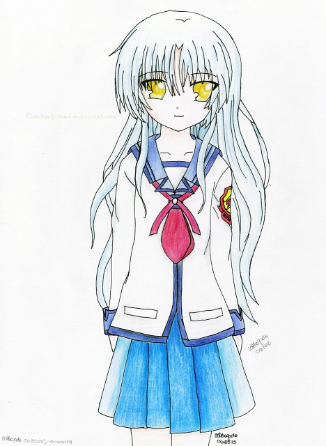 Na-Ga, Key (Studio), Angel Beats!, Kanade Tachibana, Member Art