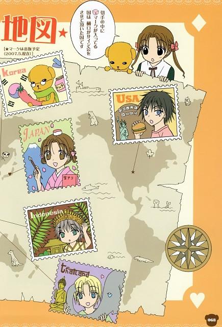 Tachibana Higuchi, Gakuen Alice, Gakuen Alice Illustration Fan Book, Tsubasa Andou, Mr. Bear