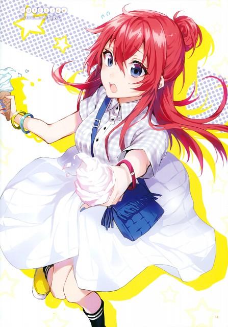 Ako Arisaka, Shirobako, Shirobako Official Compilation Book White Summer!, Shizuka Sakaki