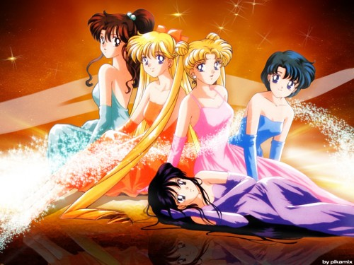 Toei Animation, Bishoujo Senshi Sailor Moon, Minako Aino, Ami Mizuno, Rei Hino Wallpaper