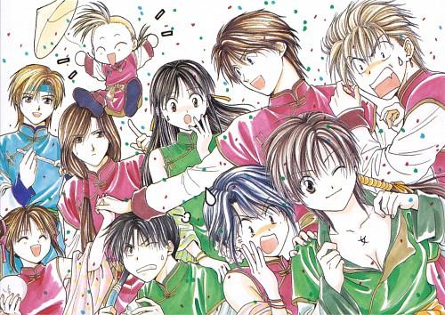 Yuu Watase, Studio Pierrot, Fushigi Yuugi: Genbu Kaiden, Fushigi Yuugi, Genbu Kaiden 9.5 Official Fan Book