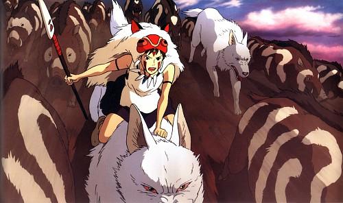 Hayao Miyazaki, Gonzo, Studio Ghibli, Princess Mononoke, Moro