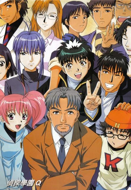 Fumiya Satou, Studio Pierrot, Tantei Gakuen Q, Shino Katagiri, Kazuma Narusawa