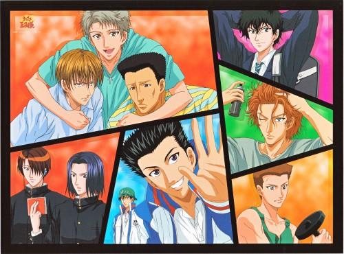 Takeshi Konomi, J.C. Staff, Prince of Tennis, Wakashi Hiyoshi, Takeshi Momoshiro