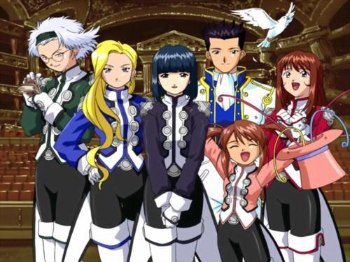 Kousuke Fujishima, Sega, Sakura Wars, Lobelia Carlini, Erica Fontaine Wallpaper
