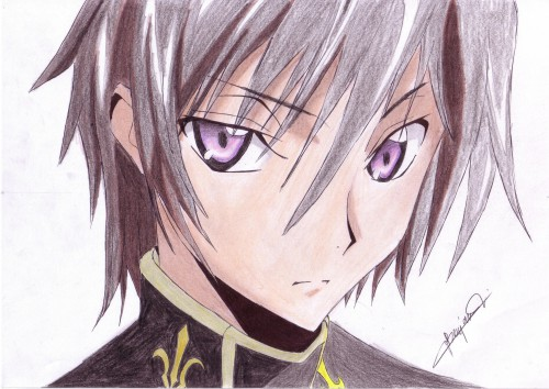 Lelouch of the Rebellion, Lelouch Lamperouge, Member Art