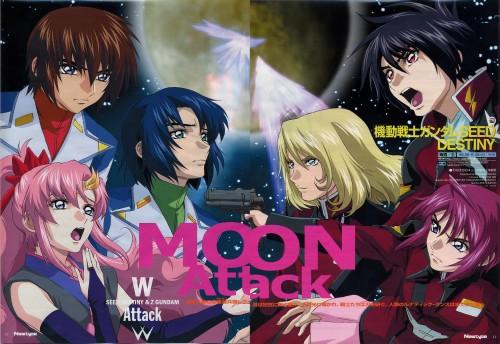 Sunrise (Studio), Mobile Suit Gundam SEED Destiny, Lunamaria Hawke, Rey Za Burrel, Athrun Zala