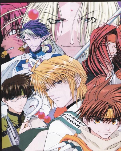 Kazuya Minekura, Studio Pierrot, Saiyuki, Cho Hakkai, Chin Yisou